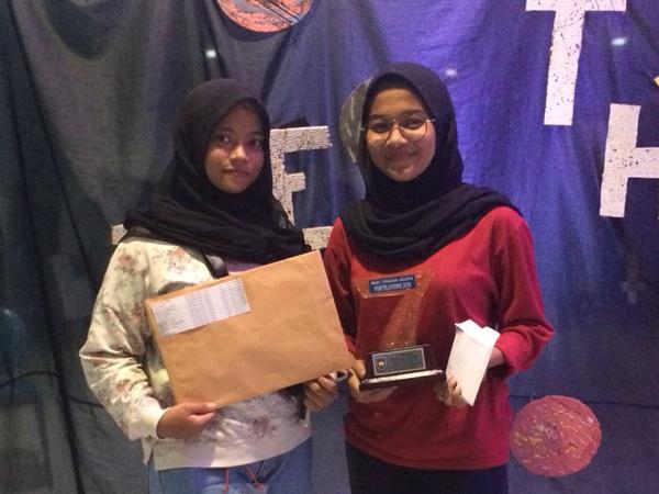 Juara I Futsal Putri - di SMAK 7 Penabur Cup 2018